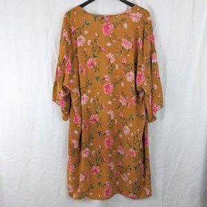 F21 Floral Kimono Sz S